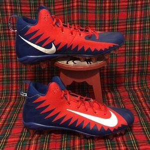Nike Alpha Menace Football Cleats mens size 15 New